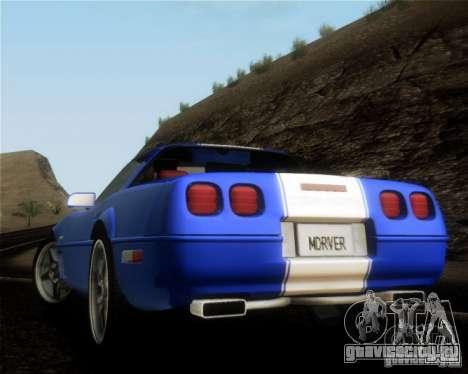 Chevrolet Corvette C4 Grand Sport 1996 для GTA San Andreas