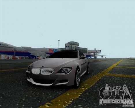 BMW 6 Series M для GTA San Andreas вид слева