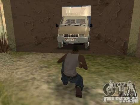 ГАЗ 3302 2001г.в. для GTA San Andreas вид сверху