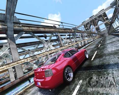 Dodge Charger RT 2006 для GTA 4 вид изнутри