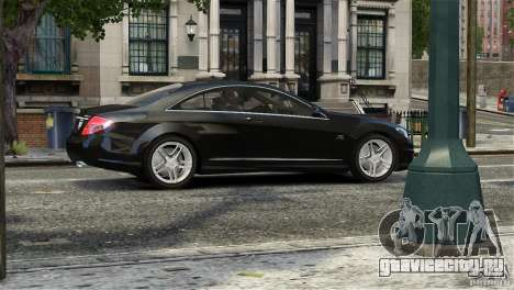 Mercedes-Benz CL65 AMG v1.5 для GTA 4 вид сбоку