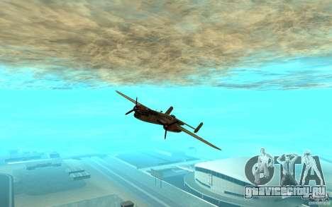 B-25 Mitchell для GTA San Andreas вид слева