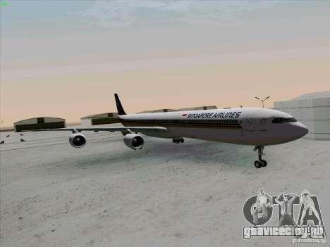 Airbus A-340-600 Singapore для GTA San Andreas