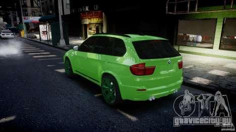 BMW X5 M-Power wheels V-spoke для GTA 4 двигатель