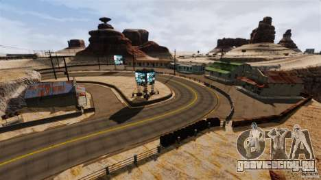 Ambush Canyon для GTA 4 третий скриншот