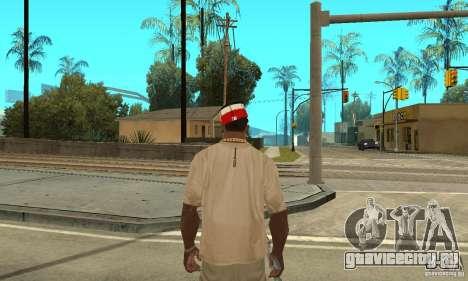 New Era Cap для GTA San Andreas второй скриншот