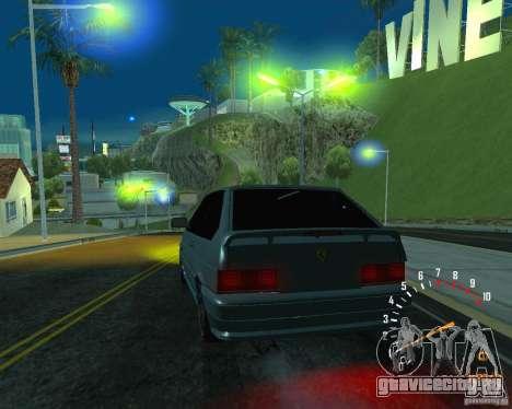 ВАЗ 2113 Ferarri для GTA San Andreas салон