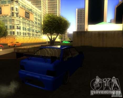 ВАЗ 2115 coupe для GTA San Andreas вид справа