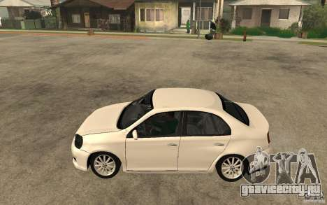Volkswagen Jetta 2008 для GTA San Andreas вид слева