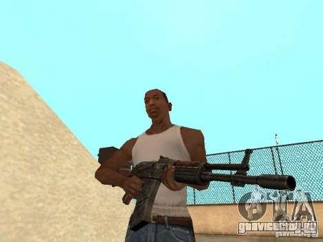 Ak-47 для GTA San Andreas третий скриншот
