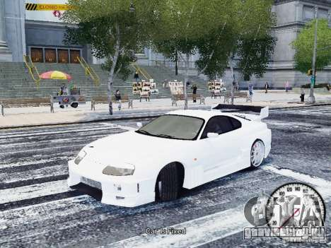Toyota Supra Drift Setting для GTA 4