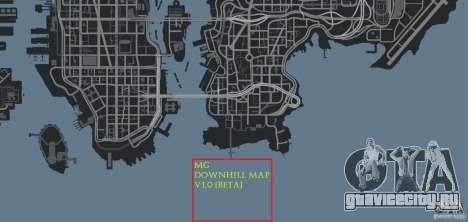 MG Downhill Map V1.0 [Beta] для GTA 4 восьмой скриншот