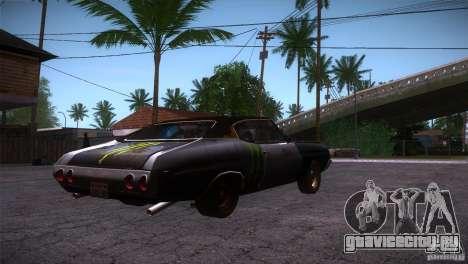 Chevrolet Chevelle SS DC для GTA San Andreas вид справа