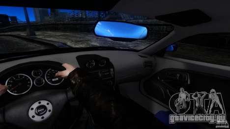 Mitsubishi FTO для GTA 4 вид сзади