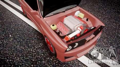 BMW E30 v8 для GTA 4 вид сверху