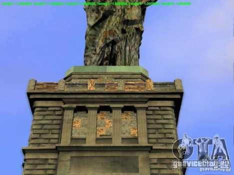 Статуя Свободы 2013 для GTA San Andreas девятый скриншот