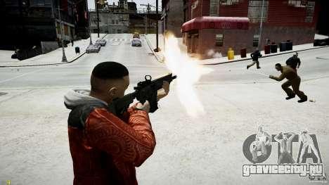 Colt CM901 из MW3 для GTA 4 пятый скриншот