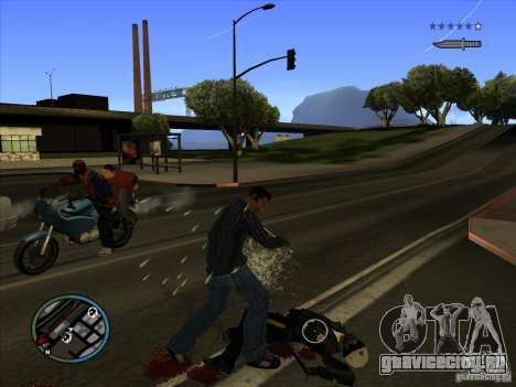 GTA IV TARGET SYSTEM 3.2 для GTA San Andreas шестой скриншот