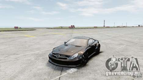 Mercedes-Benz SL65 AMG Black Series 2009 [EPM] для GTA 4