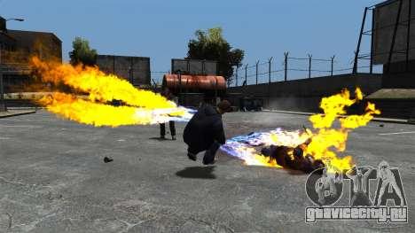 Огненные пули для GTA 4 второй скриншот