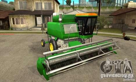 Combine Harvester Retextured для GTA San Andreas вид сзади