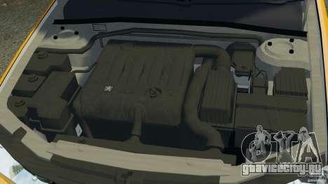 Peugeot 406 Taxi для GTA 4 вид сверху