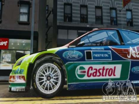 Ford Focus RS WRC для GTA 4 вид сбоку