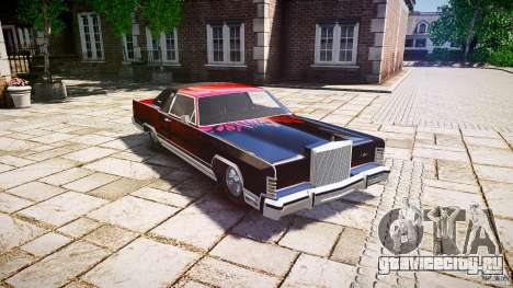 Lincoln Continental Town Coupe v1.0 1979 [EPM] для GTA 4 вид изнутри