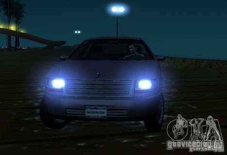 Washington из GTA IV для GTA San Andreas вид сзади