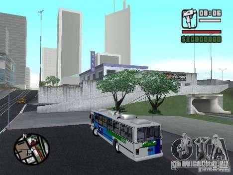 Cobrasma Monobloco Patrol II Trolerbus для GTA San Andreas вид слева
