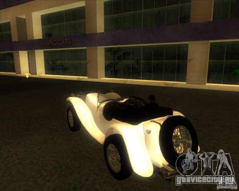 Jaguar SS 100 для GTA San Andreas вид слева
