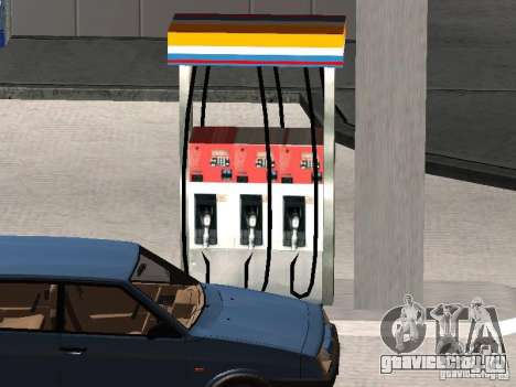 Заправка Лукойл для GTA San Andreas четвёртый скриншот