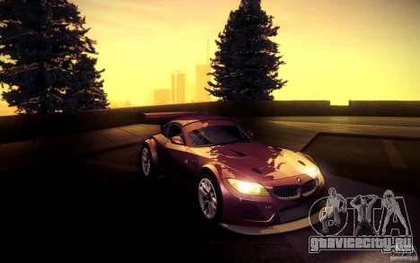 BMW Z4 E89 GT3 2010 для GTA San Andreas