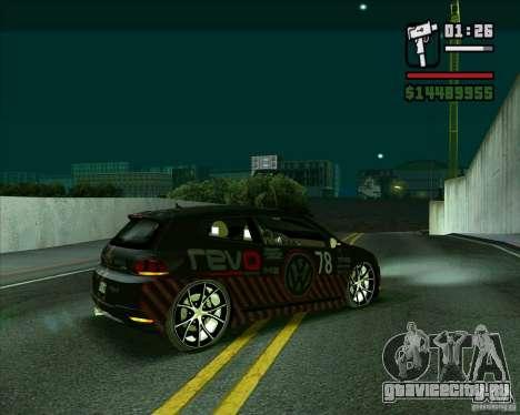 Volkswagen Scirocco 2008 для GTA San Andreas вид слева