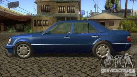Mersedes-Benz E500 для GTA San Andreas вид справа