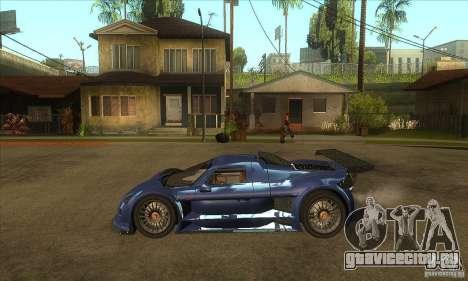 Gumpert Apollo Sport для GTA San Andreas вид слева