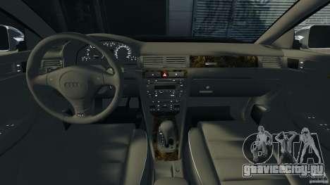 Audi RS6 2003 для GTA 4 вид сзади