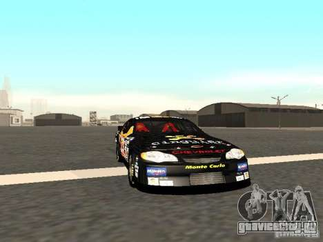 Chevrolet Monte Carlo Nascar CINGULAR Nr.31 для GTA San Andreas вид слева
