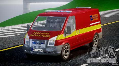 Ford Transit Polski uslugi elektryczne [ELS] для GTA 4