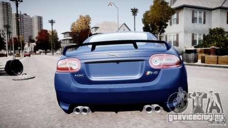 Jaguar XKR-S 2012 для GTA 4 салон