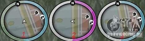 NEW GTA IV HUD 2 для GTA San Andreas второй скриншот