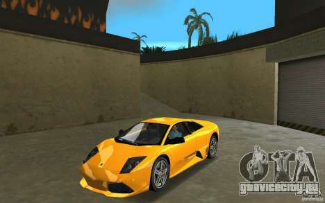 Lamborghini Murcielago LP640 для GTA Vice City