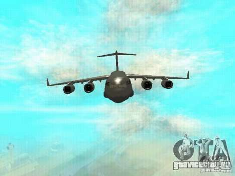 C-17 Globemaster для GTA San Andreas вид слева