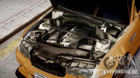 BMW M3 E46 Tuning 2001 v2.0 для GTA 4 вид сзади
