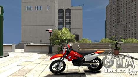 Yamaha Cross для GTA 4 вид слева