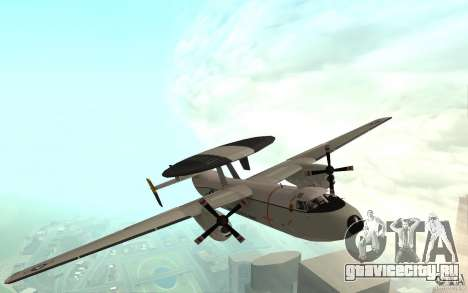 E-C2 Hawkeye для GTA San Andreas