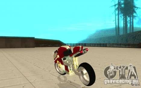 New NRG Standart version для GTA San Andreas вид сзади слева