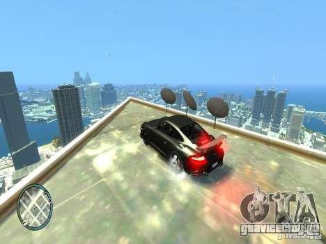 Ruf Rt 12 Final для GTA 4 вид сзади слева