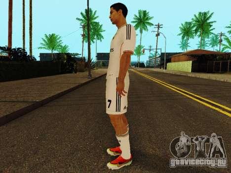 Криштиану Роналду v1 для GTA San Andreas третий скриншот