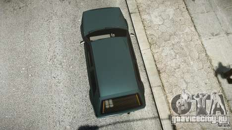 Volkswagen Golf 2 Low is a Life Style для GTA 4 вид изнутри